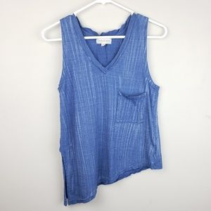 Cloth & Stone | Chambray Sleeveless Top